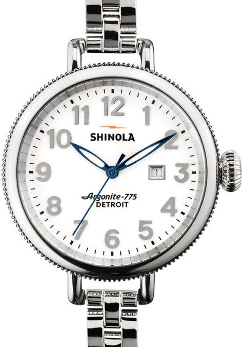 Shinola 34mm Birdy Stainless Steel Watch by Neiman Marcus