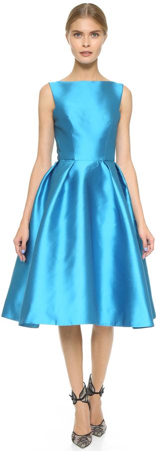 Monique Lhuillier Structured Sleeveless Dress by Monique Lhuillier